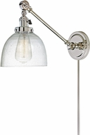 JVI Designs 1255-15-S5-CB Soho Madison Contemporary Polished Nickel Wall Swing Arm Lamp