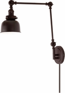 JVI Designs 1257-08-M2 Soho Oil Rubbed Bronze Swing Arm Wall Lamp