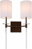 JVI Designs 1262-08 Sutton Oil Rubbed Bronze Wall Lamp