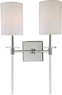 JVI Designs 1262-15 Sutton Polished Nickel Sconce Lighting