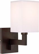 JVI Designs 1263-08 Allston Oil Rubbed Bronze Lamp Sconce