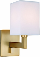 JVI Designs 1263-10 Allston Satin Brass Wall Sconce Lighting