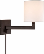 JVI Designs 1264-08 Allston Oil Rubbed Bronze Swing Arm Wall Lamp