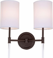 JVI Designs 1266-08 Hudson Oil Rubbed Bronze Light Sconce