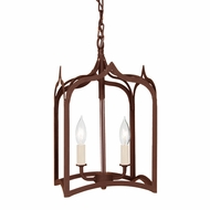 JVI Designs 3001 Medium 16 Inch Tall Traditional Drop Ceiling Lighting - 2 Candles
