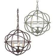 JVI Designs 3030 Small 12 Inch Diameter Mini Chandelier With Finish Options