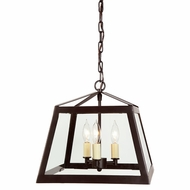 JVI Designs 3036-08 Troy Oil Rubbed Bronze Foyer Lighting