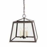 JVI Designs 3037-08 Troy Oil Rubbed Bronze Foyer Light Fixture