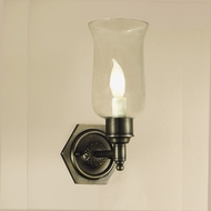 JVI Designs 324 Transitional 6 Inch Tall Candle Wall Light Sconce With Finish Options