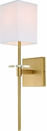 JVI Designs 441-10 Marcus Satin Brass Wall Sconce