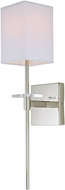 JVI Designs 441-15 Marcus Polished Nickel Wall Lamp