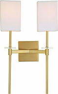 JVI Designs 442-10 Marcus Satin Brass Wall Lighting