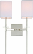 JVI Designs 442-15 Marcus Polished Nickel Sconce Lighting