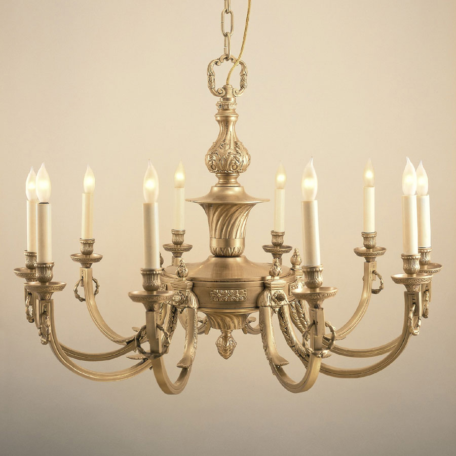 Jvi Designs 570 Traditional 32 Inch Diameter 10 Candle Antique Brass Dutch Style Chandelier