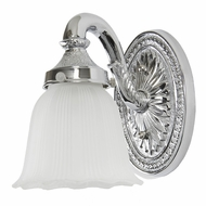 JVI Designs 707-06 7 Inch Tall Traditional Style Polished Chrome Wall Lighting