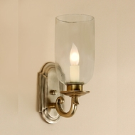 JVI Designs 817 Rubbed Brass Finish Transitional Candle Sconce Lighting