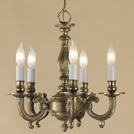 JVI Designs 905 14 Inch Diameter Traditional Mini Chandelier Lamp