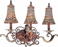 Kalco 2563 Chesapeake Traditional 3-Light Bathroom Lighting Fixture