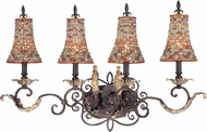 Kalco 2564 Chesapeake Traditional 4-Light Vanity Lighting