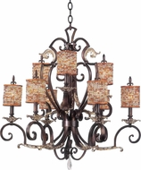 Kalco 2573 Chesapeake Traditional Hanging Chandelier