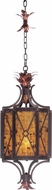 Kalco 2598 Marlowe Country Antique Copper Foyer Lighting Fixture