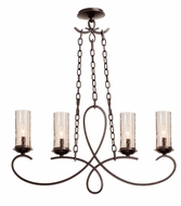 Kalco 2669 Grayson Heirloom Bronze Kitchen Island Lighting