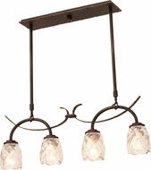 Kalco 2925 Penrith Antique Copper Kitchen Island Light