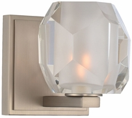 Kalco 302831SN Regent Contemporary Satin Nickel LED Lighting Sconce