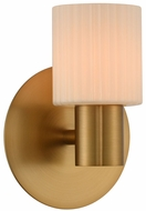 Kalco 308431WB Harlowe Contemporary Winter Brass LED Lighting Wall Sconce
