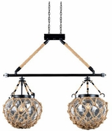 Kalco 308561SZ Hatteras Contemporary Satin Bronze Kitchen Island Lighting