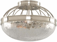Kalco 311340PN Montauk Modern Polished Nickel 12  Ceiling Lighting