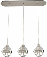 Kalco 311343PN Montauk Contemporary Polished Nickel Multi Hanging Pendant Light