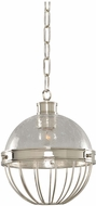 Kalco 311351PN Montauk Contemporary Polished Nickel Mini Hanging Light Fixture