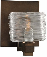 Kalco 312131VBZ Clearwater Contemporary Vintage Bronze Xenon Wall Light Sconce