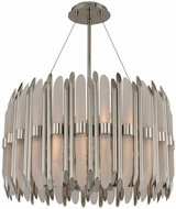 Kalco 312952PN Massina Modern Polished Nickel 22  Drop Lighting