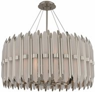 Kalco 312953PN Massina Contemporary Polished Nickel 28  Drop Ceiling Lighting