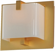 Kalco 313231GD Meridian Gold Xenon Wall Sconce Lighting