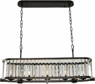 Kalco 314254SB Essex Contemporary Sienna Bronze Island Lighting