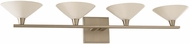 Kalco 315134SN Galvaston Satin Nickel LED 4-Light Bath Lighting