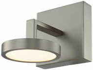 Kalco 316531SN Eaton Contemporary Satin Nickel LED Wall Sconce