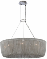 Kalco 316950PN Genevieve Contemporary Polished Nickel 28  Ceiling Light Pendant