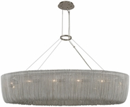 Kalco 316960PN Genevieve Contemporary Polished Nickel Island Lighting
