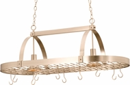 Kalco 3617 Contemporary Satin Nickel Pot Rack