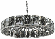 Kalco 390456SL Giada Modern Stainless Steel 39  Pendant Light