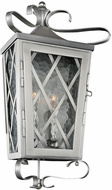 Kalco 402220SL Trellis Stainless Steel Outdoor Wall Sconce