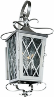 Kalco 402221SL Trellis Stainless Steel Exterior Small Wall Lamp