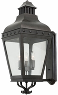 Kalco 403323AI Winchester Aged Iron Exterior Large Wall Sconce Lighting