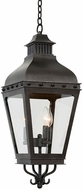 Kalco 403351AI Winchester Aged Iron Outdoor Pendant Light Fixture