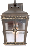 Kalco 403421AGB Sherwood Aged Bronze Exterior Small Lighting Wall Sconce