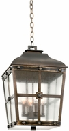 Kalco 403451AGB Sherwood Aged Bronze Outdoor Pendant Lighting Fixture